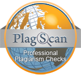 Plagiarism scan using Plagscan system